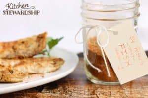 St Peters Spicy Fish Seasoning with Pan fried fish
